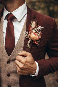abito sposo matrimonio autunnale